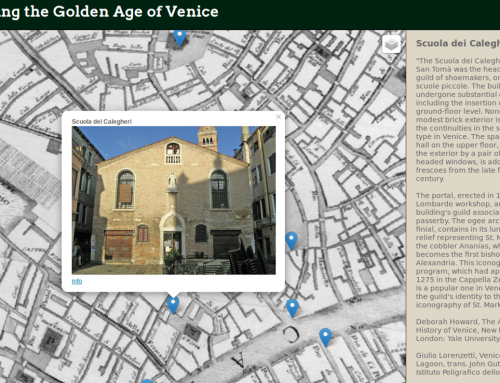 Mapping the Golden Age of Venice