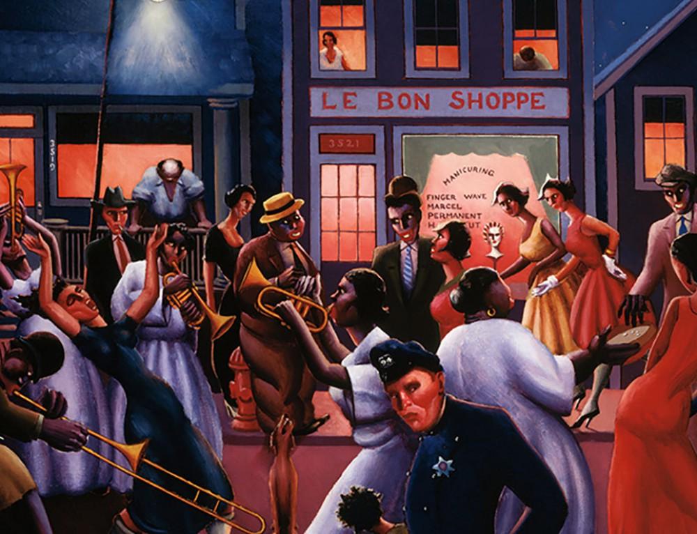 AAS 341 ART 375: Enter the New Negro: Black Atlantic