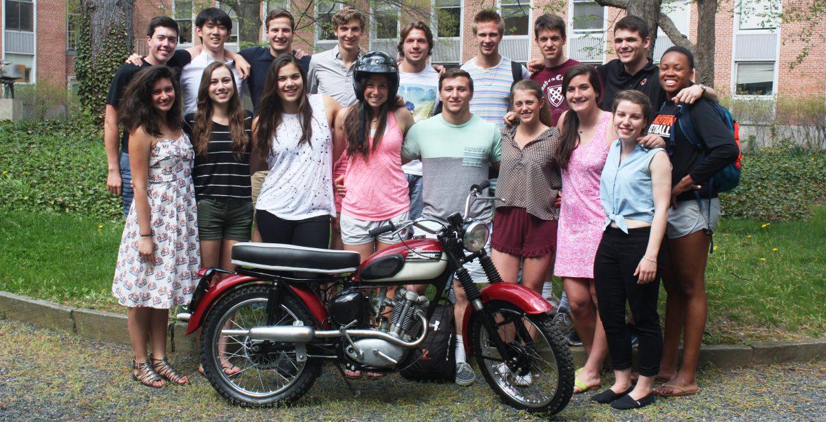 57 Tiger Cub Motorcycle