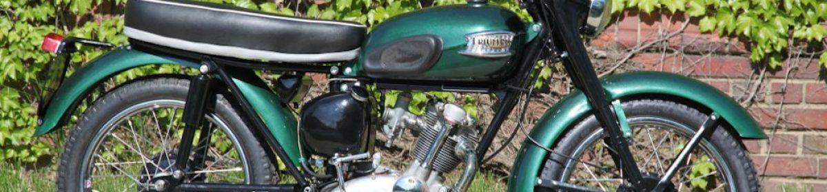 63-3 Tiger Cub Motorcycle