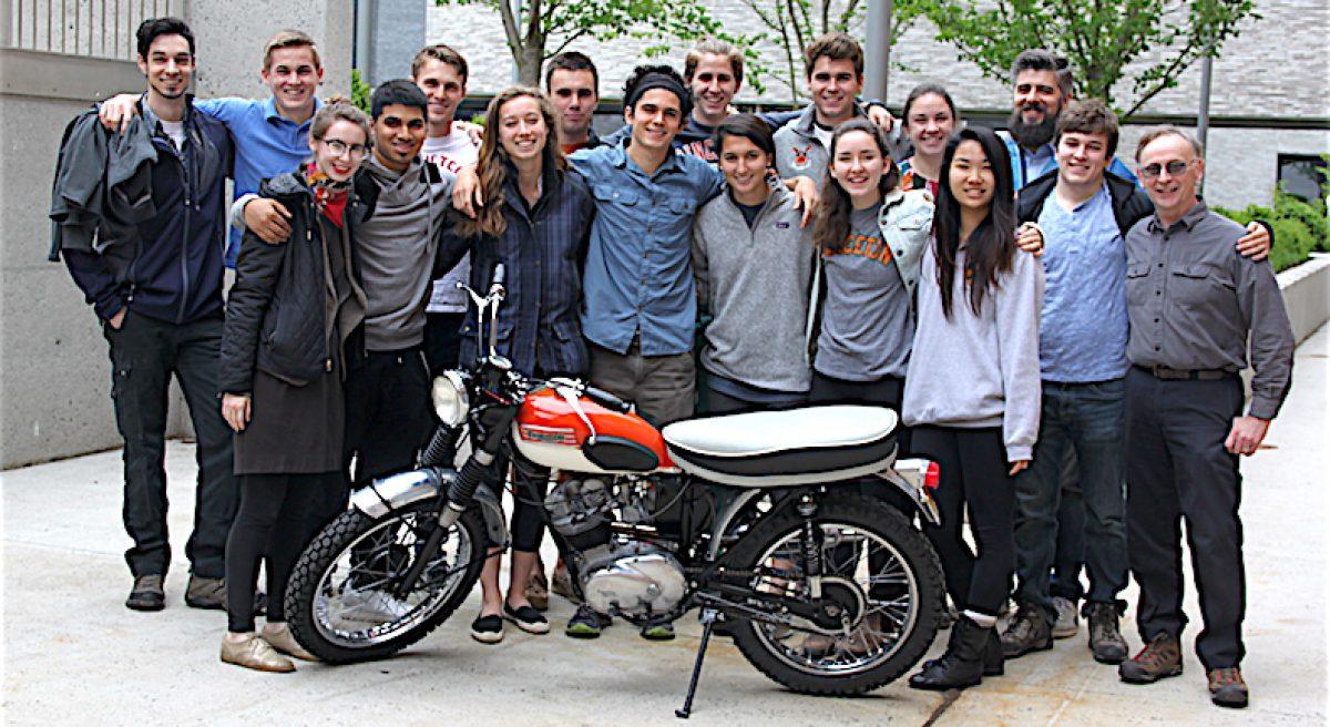 65 Tiger Cub Motorcycle