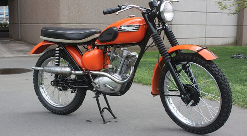 1959 Tiger Cub Motorcycle