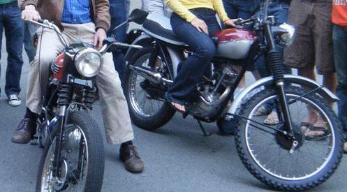 1962 Tiger Cub Motorcycle