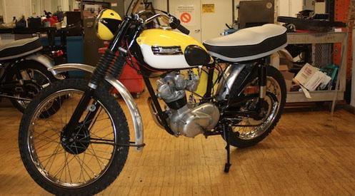 1963 Tiger Cub Motorcycle