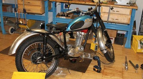 1964 Tiger Cub Motorcycle