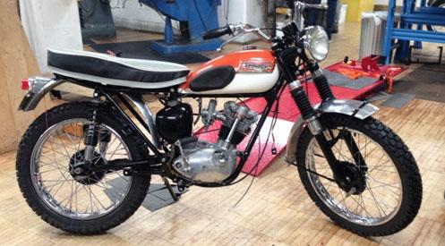 1965 Tiger Cub Motorcycle