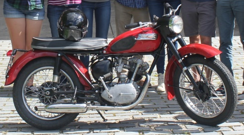 1958 Tiger Cub Motorcycle