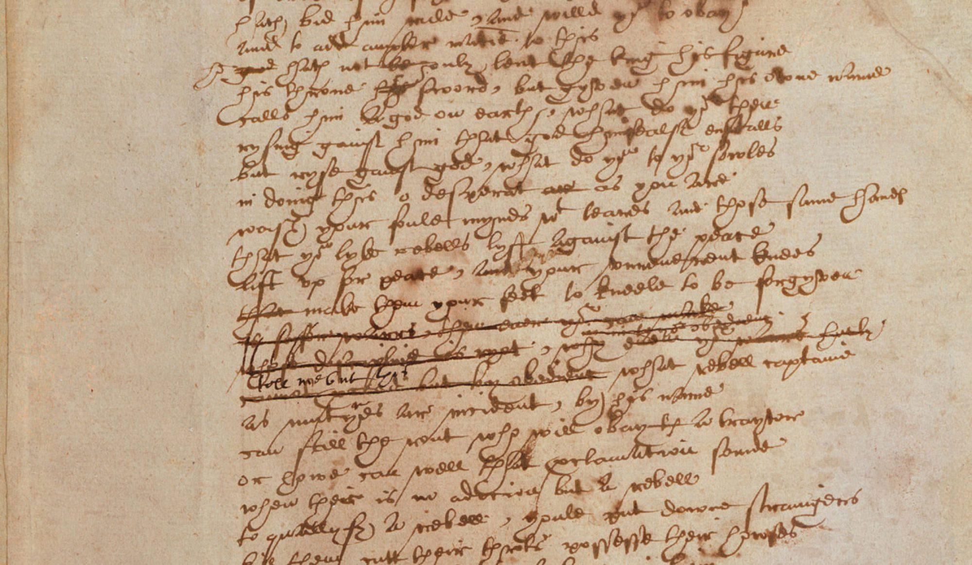 Shakespeare's Dramatic Language