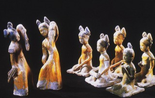 clay figure of 7 girls
