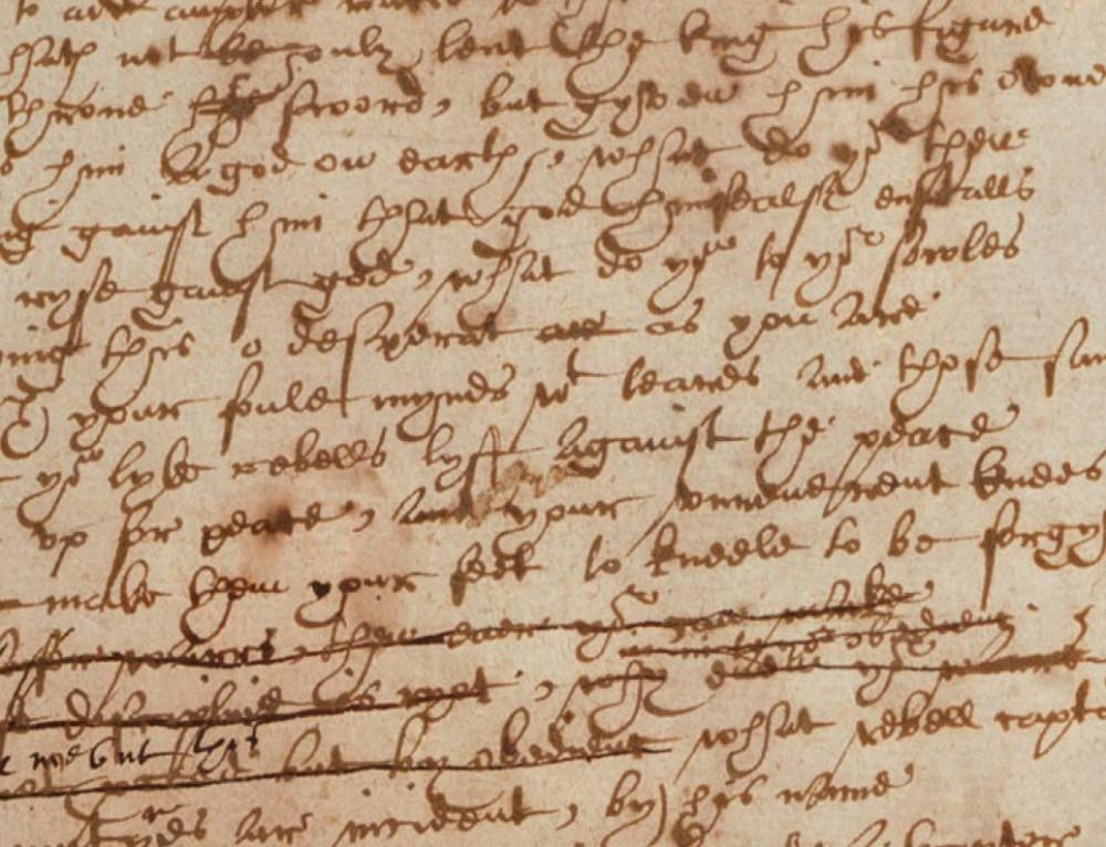 ENG 523: Renaissance Drama: Shakespeare's Language